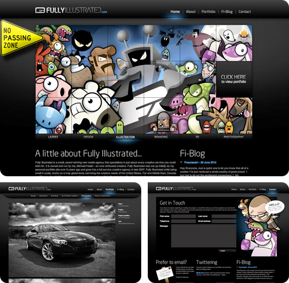SiteoftheWeek: Fully Illustrated