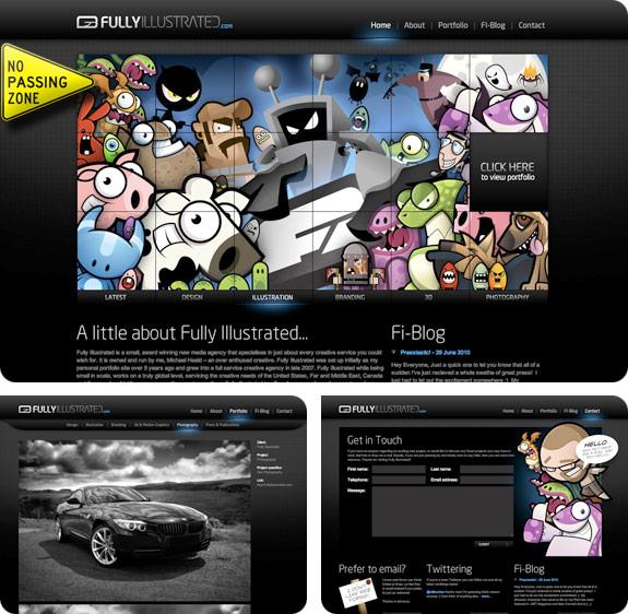 SiteoftheWeek: Fully Illustrated