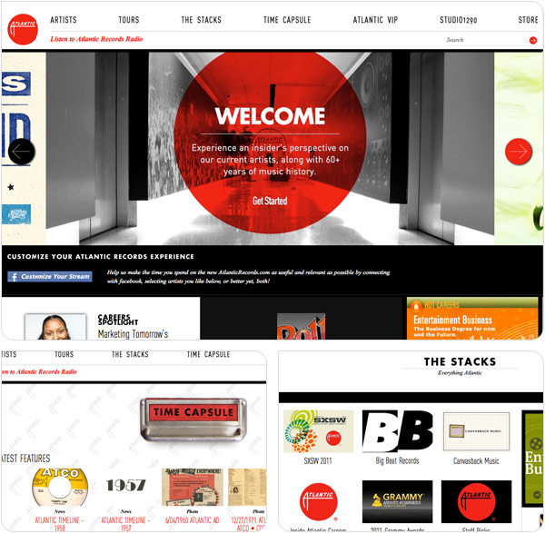 SiteoftheWeek: Atlantic Records